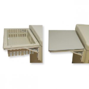 Foldable-frame--side-tray-ECOLINE-CART-ACCESSORY