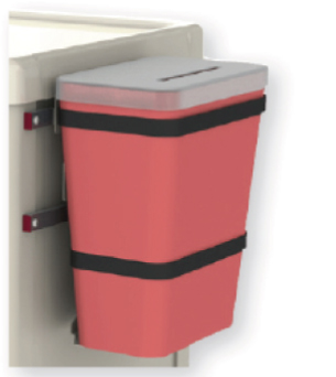 Hazard-bin-holder-cart-accessory
