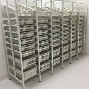open frame rack 6 bay