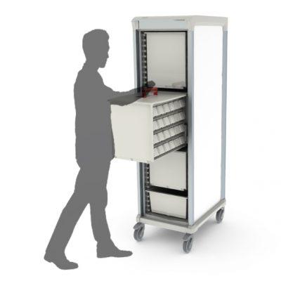 APOLLO-MED-medication-storage-cart-person